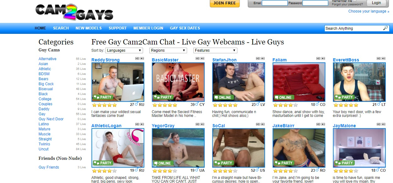Cam2Gays Reviews