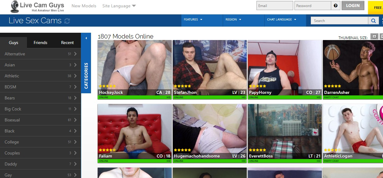 Live Cam Guys Reviews