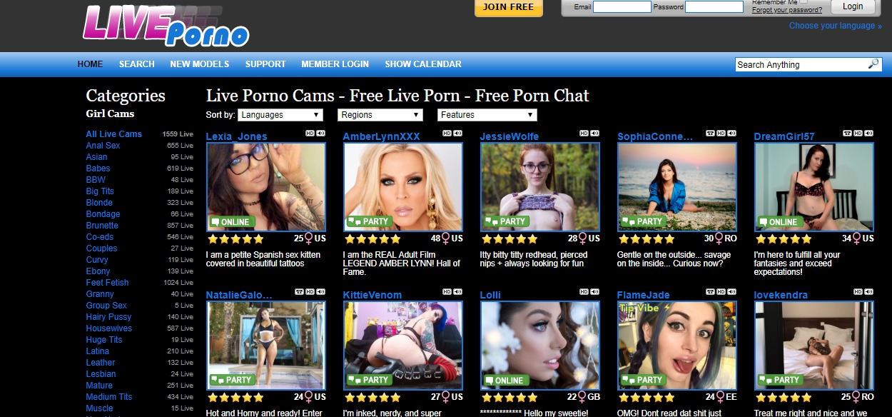 Live Porno Reviews