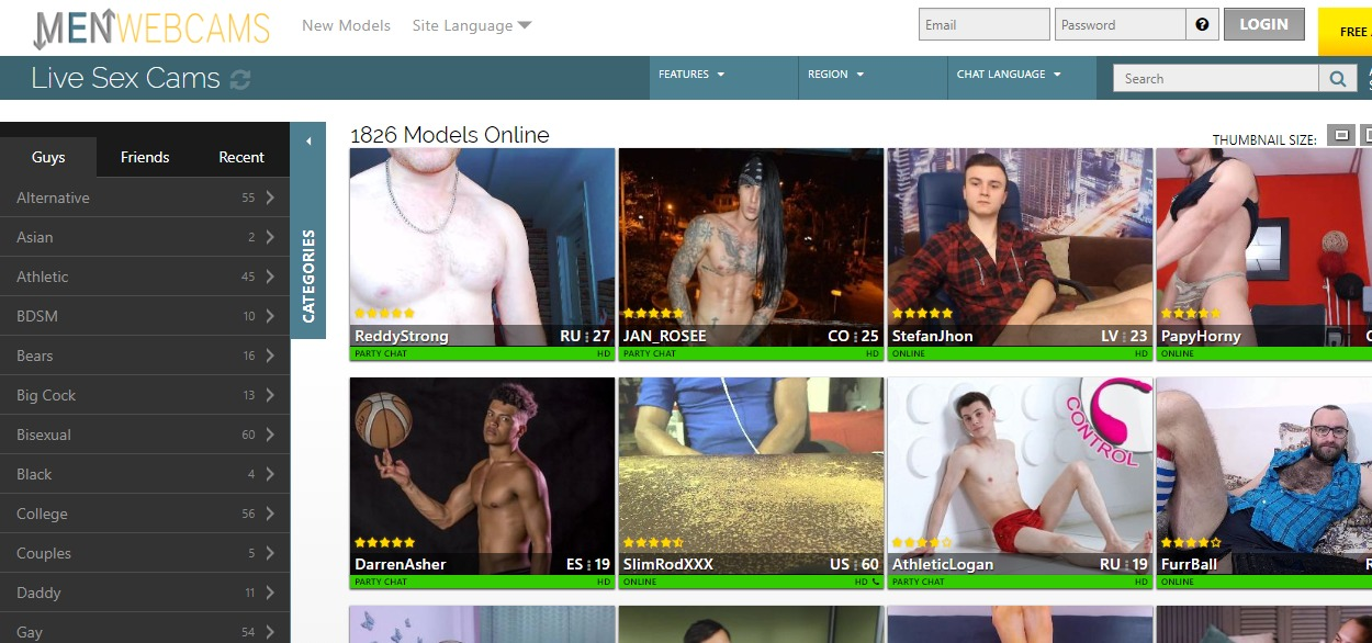 MenWebCams Reviews