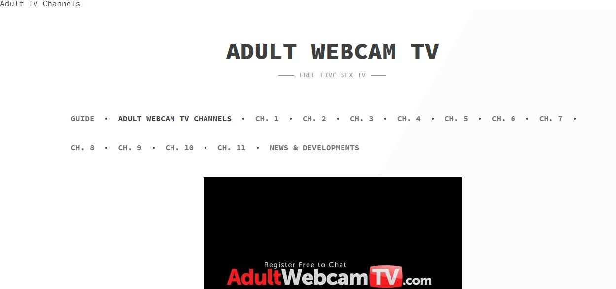 Adult Webcam TV ™ Reviews