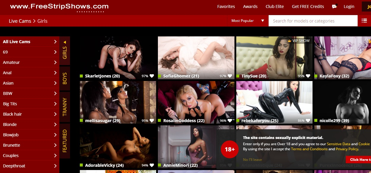 FreeStripShows Reviews
