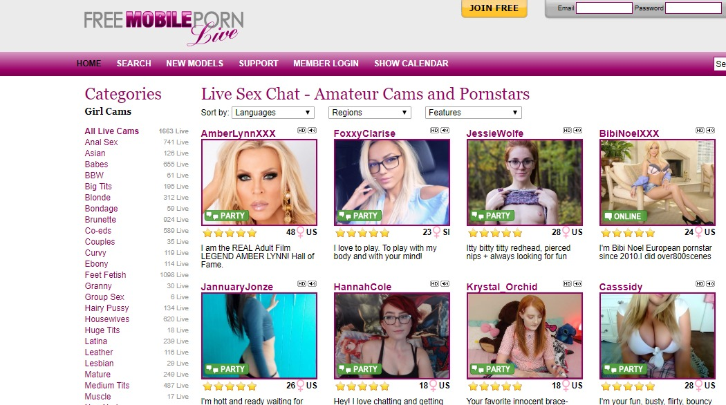 FreeMobilePornLive Reviews